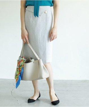 【セットアップ対応商品】ドライオックスアシメタイトスカート