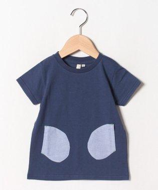 変形ポケットTシャツ