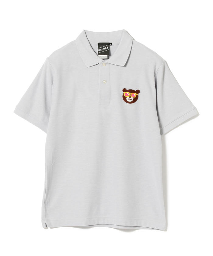【SPECIAL PRICE】BEAMS T / Sunglass Bear Polo Shirt