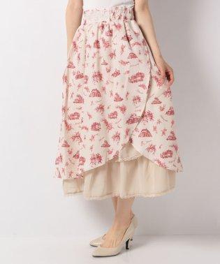 ヌーベルジュイ柄スカート