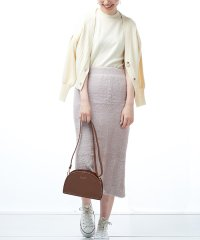 【natural couture】ミニシャギータイトスカート
