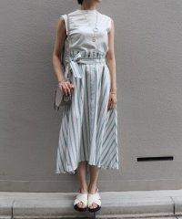 【セットアップ対応商品】カラーストライプスカート
