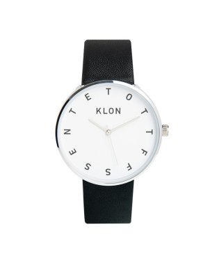 KLON ALPHABET TIME BLACK 40mm