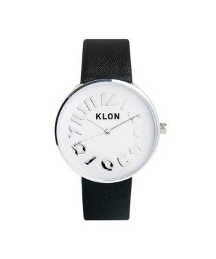 KLON HIDE TIME BLACK Ver.SILVER 40mm