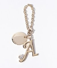 Stone Initial Charm A