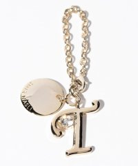 Stone Initial Charm T