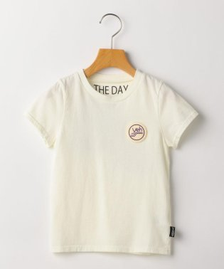 THE DAY:【SHIPS KIDS別注】ワッペン プリント TEE(100~130cm)