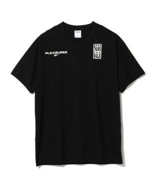 Reebok × PLEASURES / VECTOR Tシャツ1