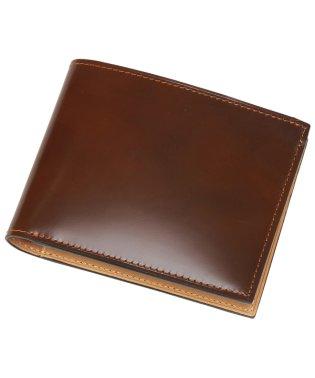 コードバン純札二つ折り財布