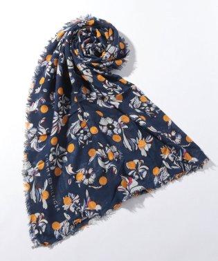 フローラルドットスカーフ