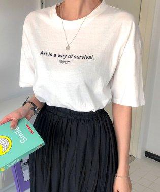 MERONGSHOP(メロンショップ)アートTシャツ-