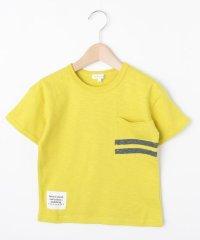 【コットン100%】【90cm~160cm】スラブ天竺 ポケットボーダーTシャツ