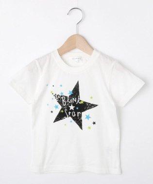 【コットン100%】【90cm~150cm】星プリントTシャツ