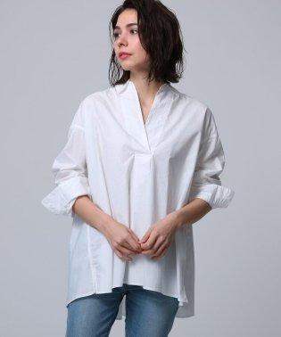 【洗える】タイプライタースキッパーシャツ