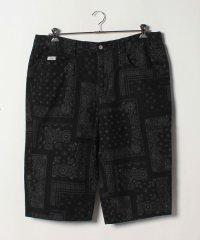 【EDWIN】 大きいサイズ メンズ ショートパンツ ハーフパンツ ペイズリー柄 プリント ブランド
