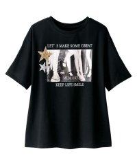 ゆるシルエットデザインTシャツ