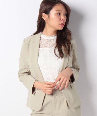 【セットアップ対応商品】ストレッチ素材テーラードジャケット