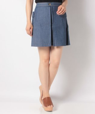 【SHIPS for women】J M.D:DENIM SK