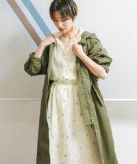 【KBF】ステッチフーディーコート