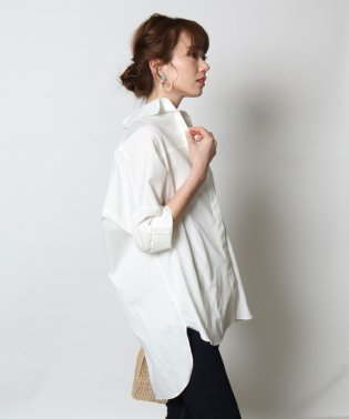 GRANDTABLE(グランターブル) ロールアップビッグシャツ