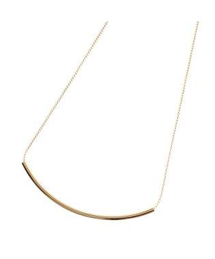 シンプルパイプモチーフのネックレス