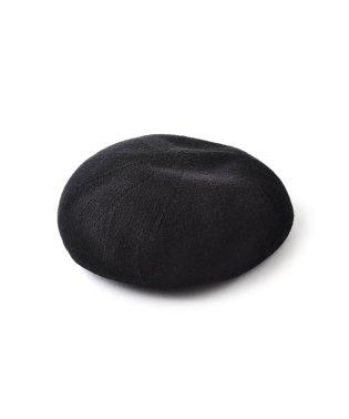 コットン100%素材の、ベーシックデザインベレー帽