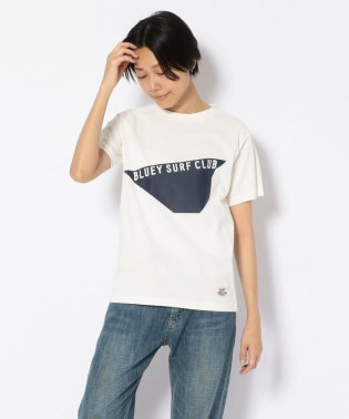 BLUEY SURFCLUB(ブルーイサーフクラブ)WプリントTシャツ