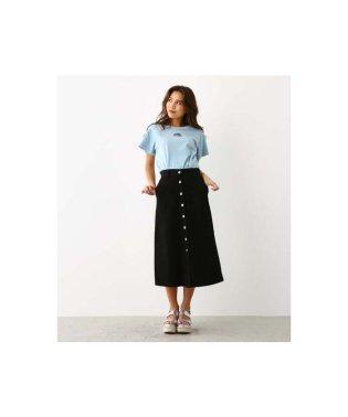 フロント 釦 スカート