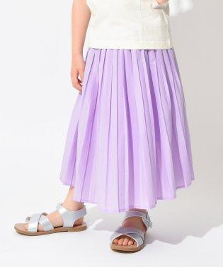 ボックスプリーツスカート