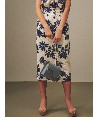 【セットアップ対応商品】Summerフラワータイトスカート