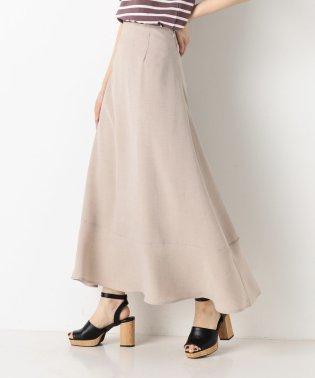 A-リネンライクマキシスカート