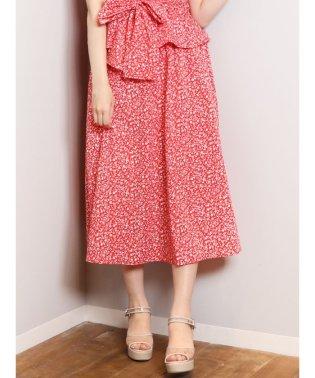 【セットアップ対応商品】CATプリントシャーリングロングスカート