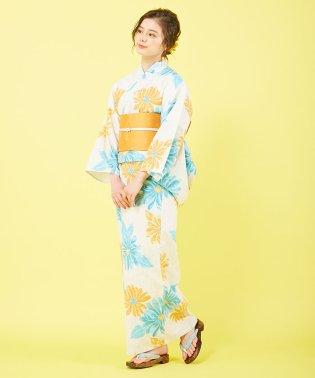 浴衣3点SET(モダン菊)