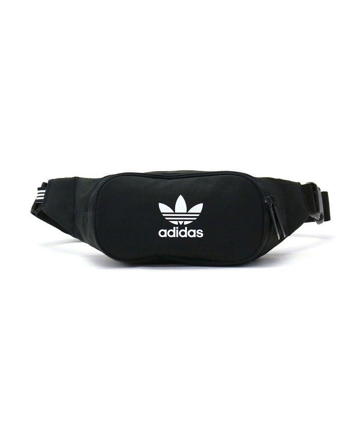 (adidas Originals/アディダスオリジナルス)アディダスオリジナルス ウエストポーチ adidas Originals ESSENTIAL CROSSBODY ウエストバッグ ボディバッグ FUA28/ユニセックス ブラック