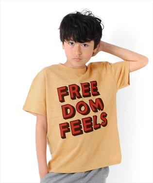 ドロップショルダーロゴ半袖Tシャツ