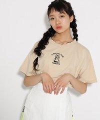 【コットン100%】【吸水速乾】ガールズ刺繍 Tシャツ