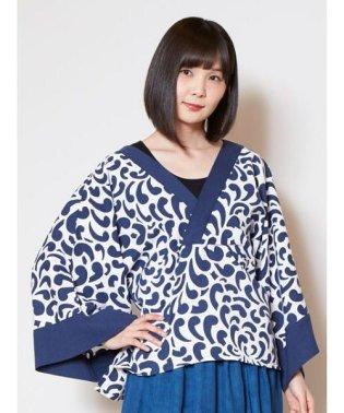 【カヤ】藍色ならいトップス 7IA-9218