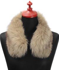 フォックス ファー 付け襟 衿 カラー 毛皮