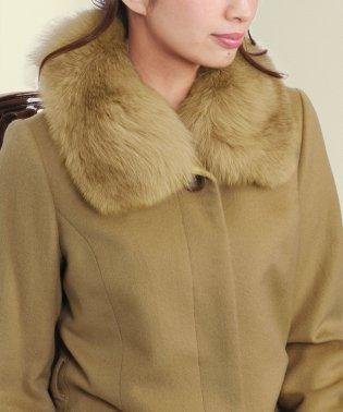 つけ襟 フォックス 取付用カラー 付け襟 付け衿 付け衿 コート用付け襟リアルファー