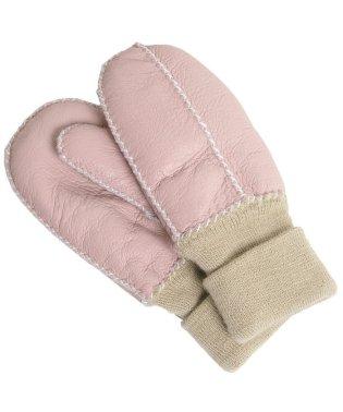ムートン ダブルフェイス 子供用 手袋 ミトン 全6色 秋冬