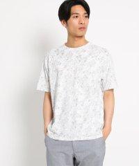 ボタニカル総柄Tシャツ