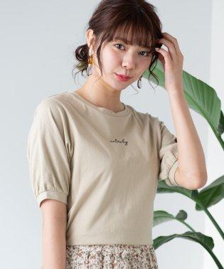 WEGO/バックオープンリボンTシャツ