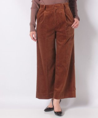 【SHIPS for women】NL:CORDUROY WIDE PT
