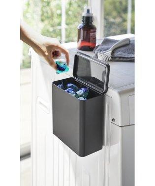 マグネット洗濯洗剤ボールストッカー タワー ブラック