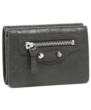 バレンシアガ 折財布 レディース BALENCIAGA 477455 D940N 1110 ダークグレー