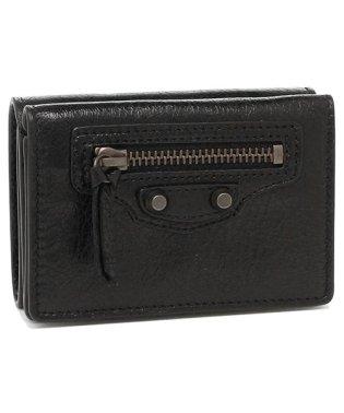 バレンシアガ 折財布 レディース BALENCIAGA 477455 D940T 1000 ブラック