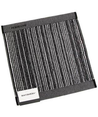 マリメッコ ハンカチ メンズ/レディース MARIMEKKO 067899 190 ホワイト ブラック