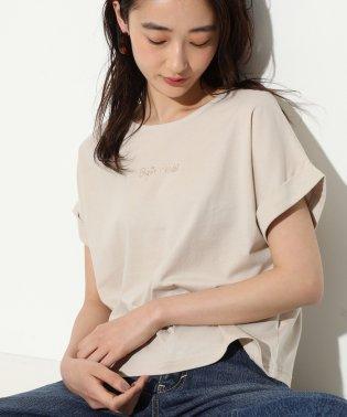 【ブリジットバルドー×ViS】ロゴTシャツ