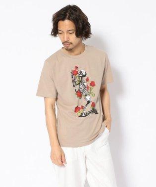 MADDICT/マディクト/ルーズシルエット スカルプリントTシャツ