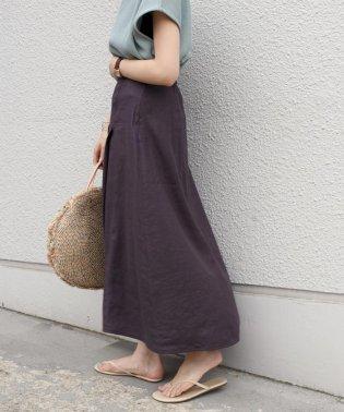 【手洗い可能】ステッチデザインフレアスカート◇